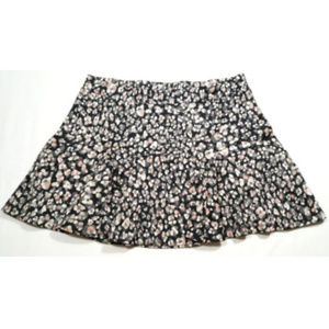 JESSICA SIMPSON Skirt Floral Watercolor 1141E2